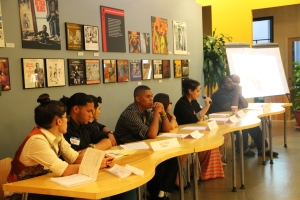 We brought in a panel comprised of students and educators alike to speak about their experiences.