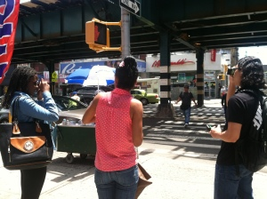 Taking Photographs in the S. Bronx