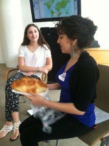 Talia and Arielle, our wonderful facilitators